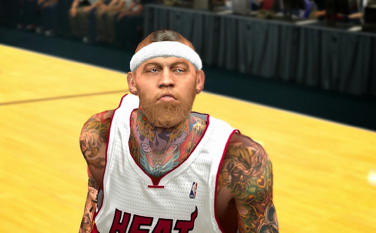 Nba 2k14 Chris Andersen Cyberface 2 Versions Nba2k Org