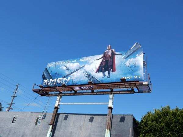 XMen Apocalypse Magneto billboard