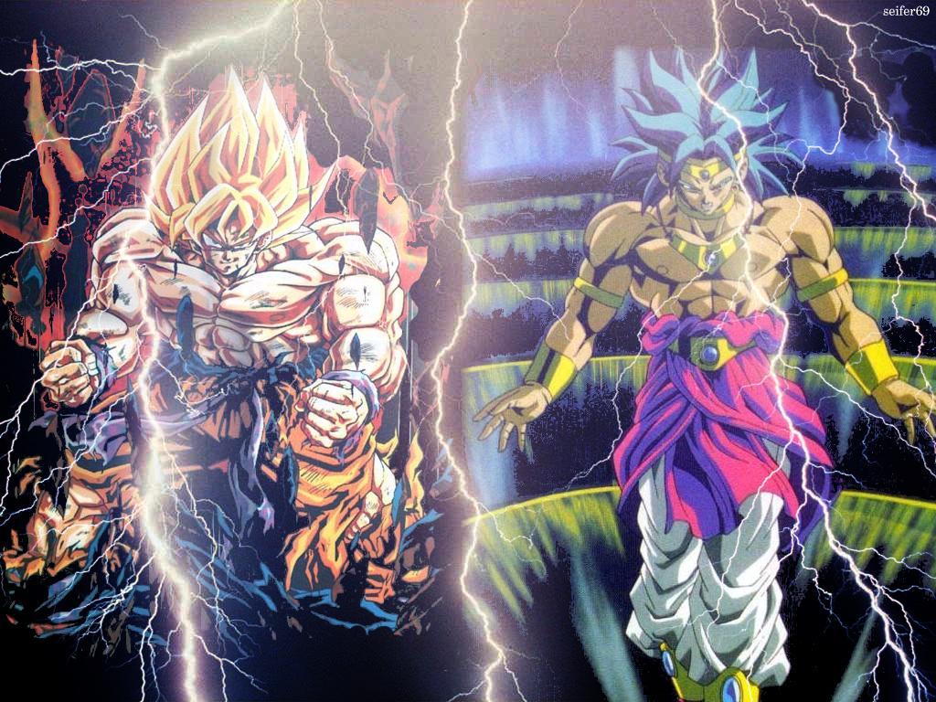 Dragon Ball Z Wallpaper Broly Vs Goku