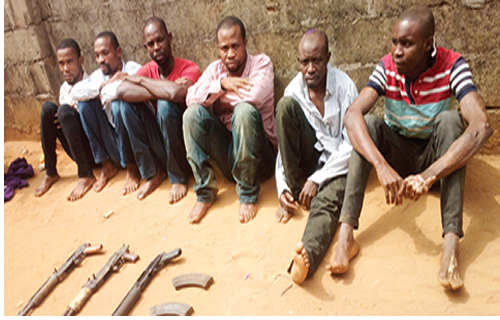 Photos Imo State S Most Wanted Kidnappers Arrested Inside Owerri