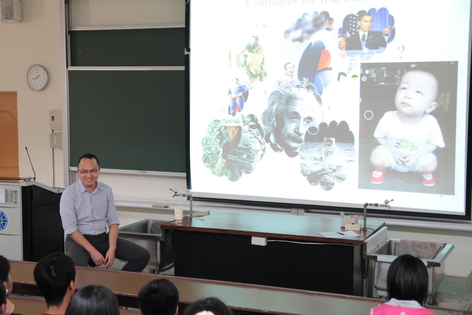 臺北市立華江高中教務處實驗研究組: 1010928奧林匹亞科學實驗課程上課紀錄