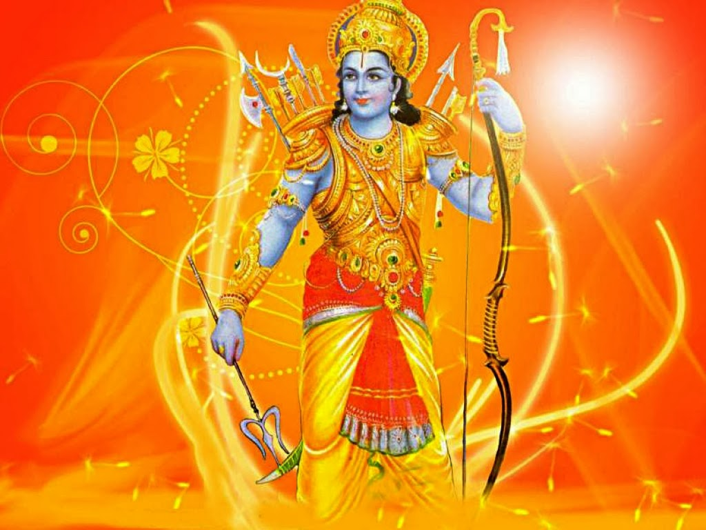 how tall is lord rama