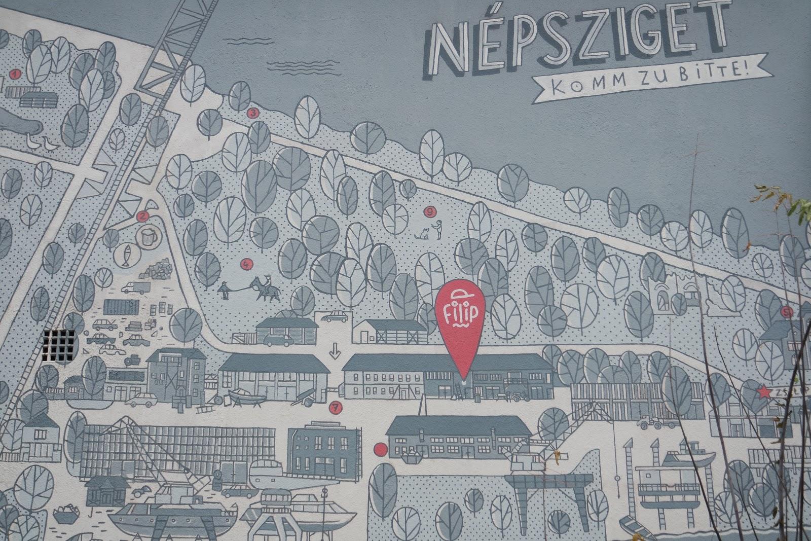 népsziget térkép Vadregényes túrablog: Városi kalandok I.   a kontrasztos Népsziget