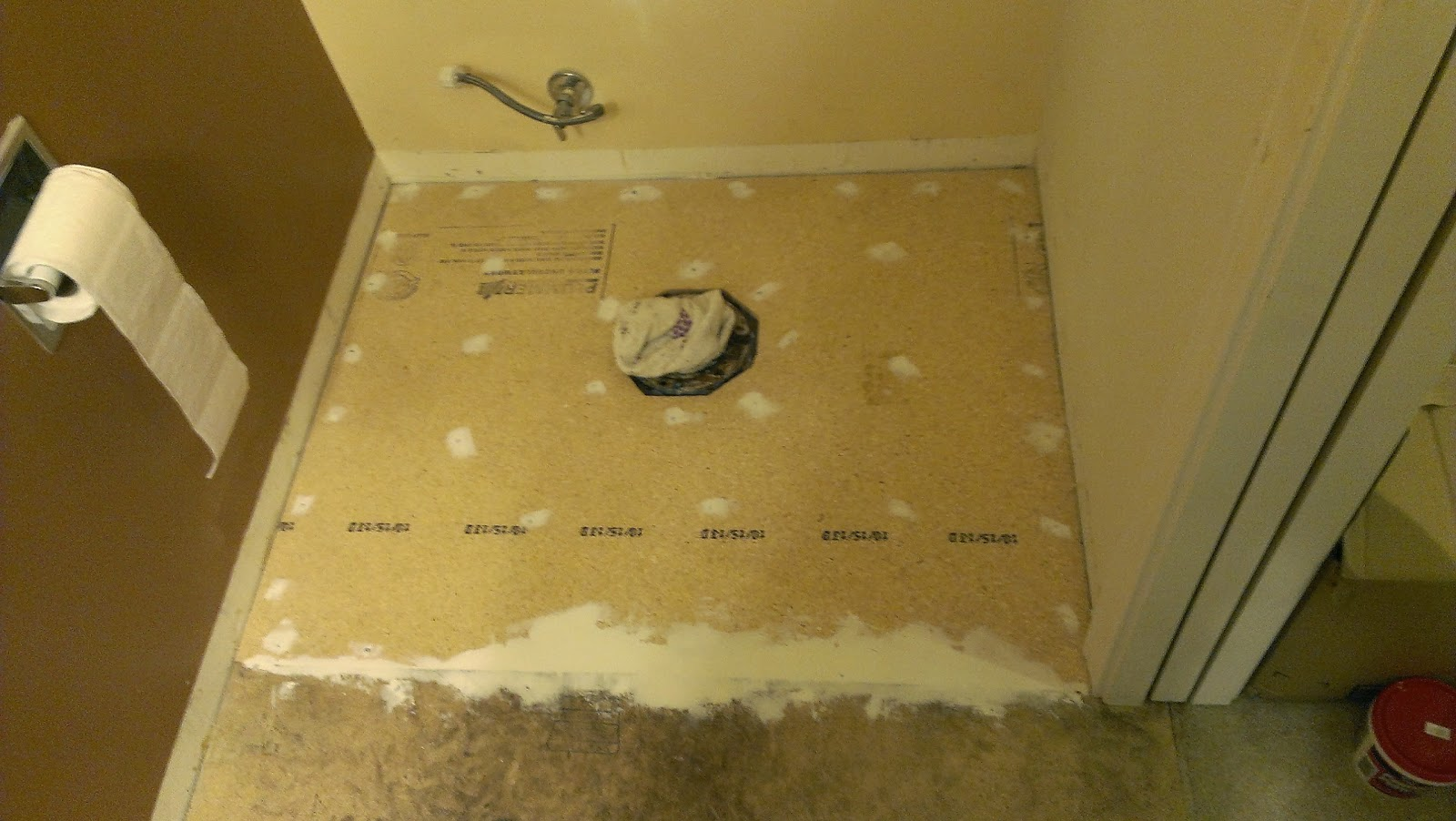 replacing a rotted bathroom floor after a toilet leak 14177
