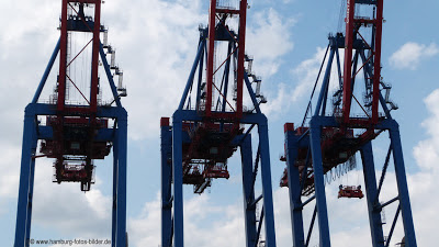 Hafenrundfahrt Hamburg Lastkräne
