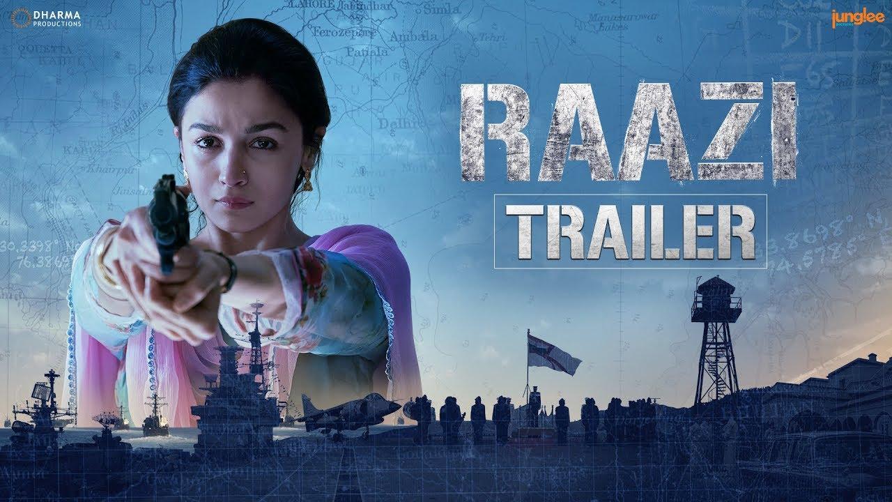 Raazi Official Trailer | Alia Bhatt, Vicky Kaushal | Directed by Meghna Gulzar