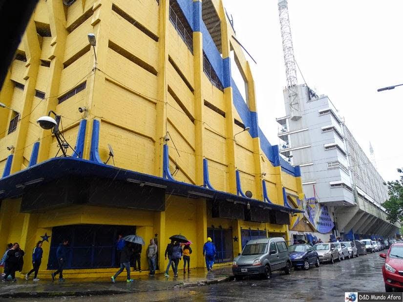 O que fazer em Buenos Aires - Estádio La Bombonera