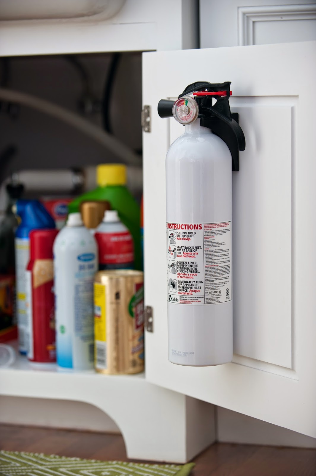 Fire Extinguisher For Kitchen Use Remodel Cost Thanks Mail Carrier The Importance Of Kidde 39s Holiday