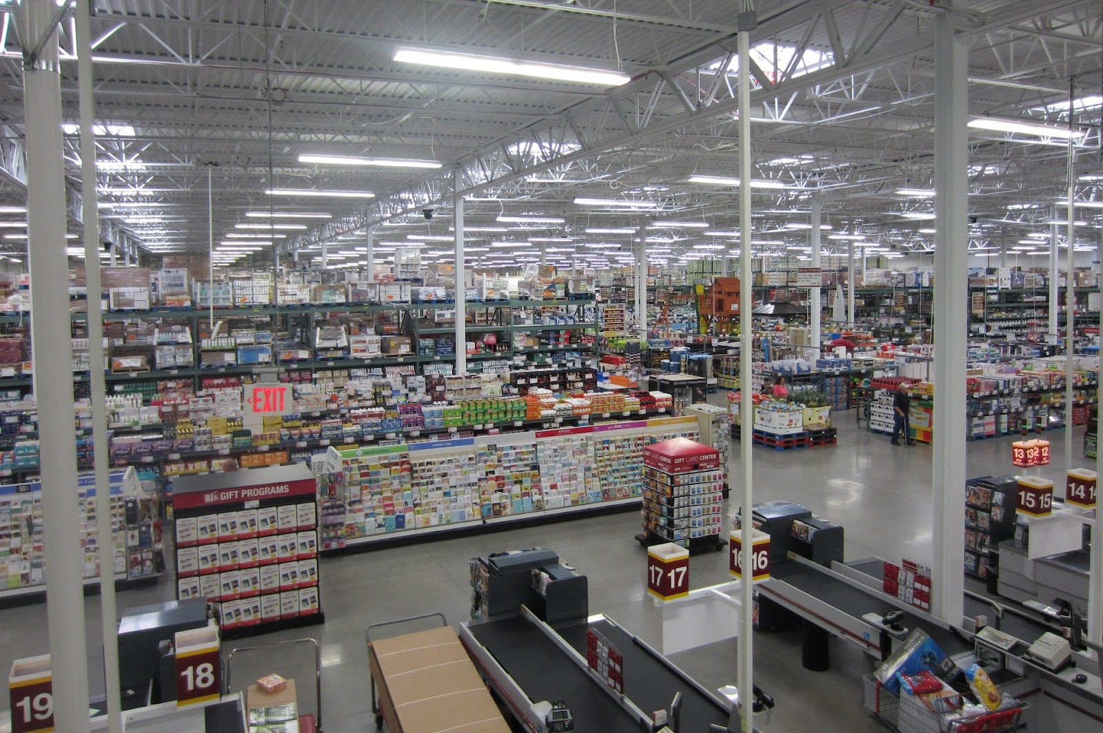 c71110e3e7 ... all their great back to school products for little ones all the way  through college students. The section is front and center when you enter  the club.