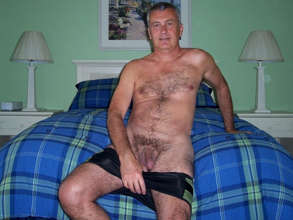 hairy dad naked