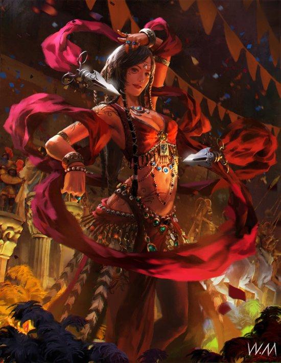 Weiming Way Way artstation deviantart ilustrações fantasia arte conceitual games