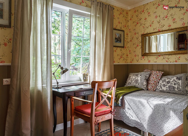 dormitor si birou ca in casa bunicii
