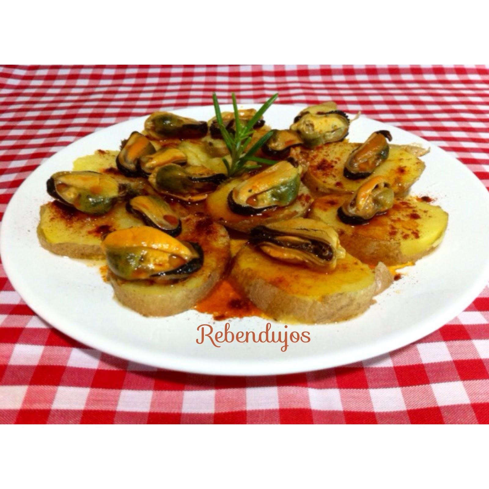 Patata Porner mejillones con patatas a la gallega (microondas)