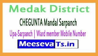 CHEGUNTA Mandal Sarpanch | Upa-Sarpanch | Ward member Mobile Numbers Medak District in Telangana State