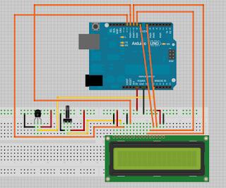 Sensor de temperatura -LCD