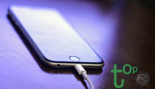 Không sạc iPhone bừa bãi