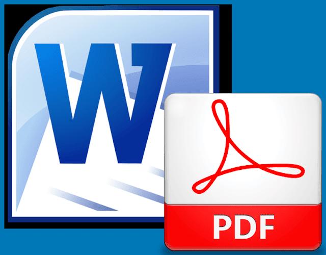 Convert File Microsoft Word Ke PDF Online