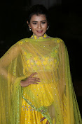 hebah patel photos in yellow ghagra-thumbnail-10