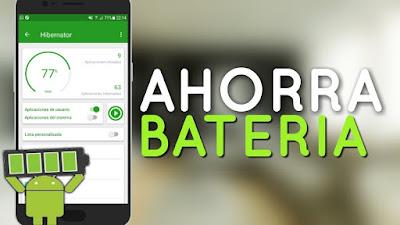 ¿Usar Apps ahorro baterías?