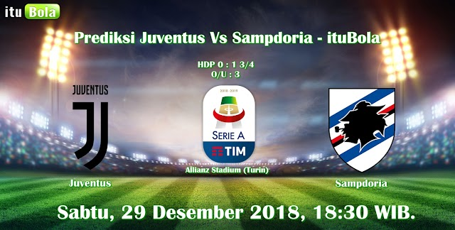 Prediksi Juventus Vs Sampdoria - ituBola
