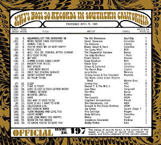 KHJ Boss 30 No. 197 - April 9, 1969
