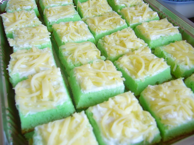 Resep Cake Keju Jepang: Resep Cake Pandan Keju