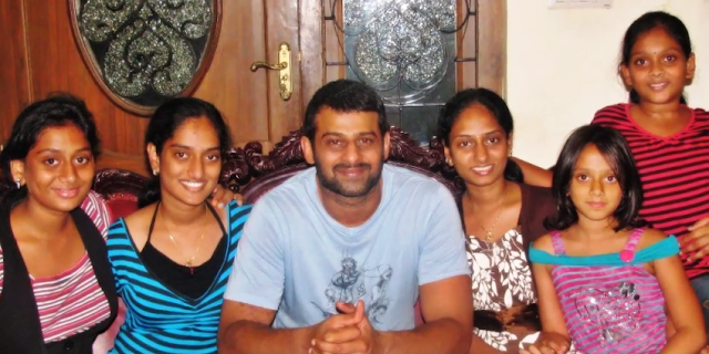 Prabhas Sisters and Cousins Photo