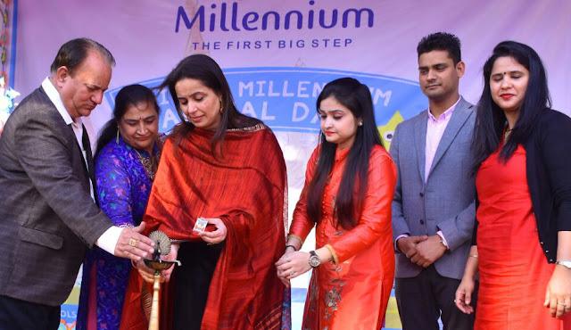 Celebrated celebration of Little Millennium Pre School