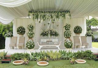 Tips Dekorasi Pernikahan Minimalis