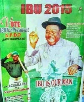 mr ibu for president