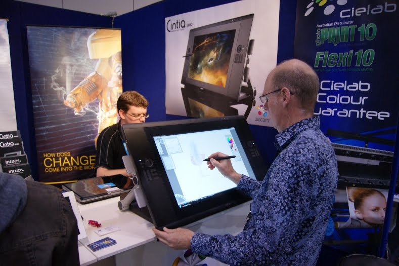 Drawon New Cintiq 24 Hd