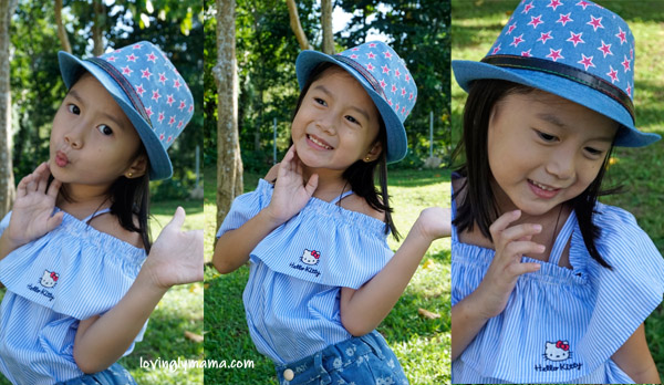 Hello Kitty apparel - SM Store - denim - denim for kids - kidswear - kiddie fashion - denim for girls - Bacolod blogger - Bacolod mommy blogger - autumn fashion - Bantug Lake Ranch