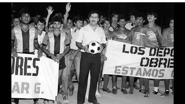 Medellin Cartel領導人Pablo Escobar美國製造