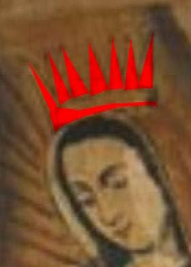 Inocente Virgen Piel Oscura