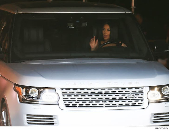 KIM KARDASHIAN WEST Range Rover, Range Rover SEND KIM'S CAR RIGHT OVER!!!