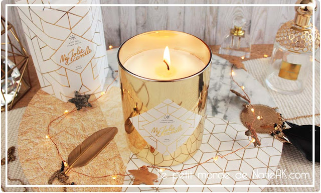 bougie Gold Edition My jolie candle