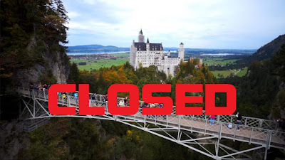 Marienbrücke ( Marys Neuschwanstein bridge) CLOSED