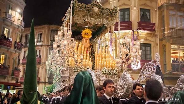 Horarios de la Semana Santa de Málaga 2019