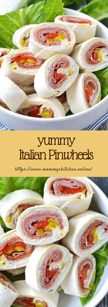 yummy Italian Pinwheels #recipehealthy #easyketo