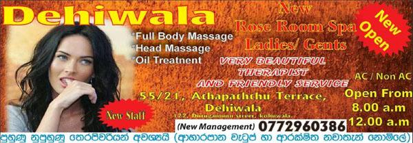 Dehiwala Rose Room Spa
