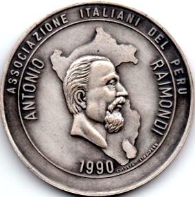 Imagen de Antonio Raimondi en Medalla (1990)