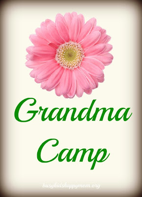 Grandma Camp... this is one to send to your mom!