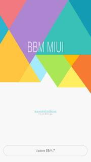BBM MOD BBM MIUI 7 v7.1.24 Based 2.12.0.9 APK Terbaru