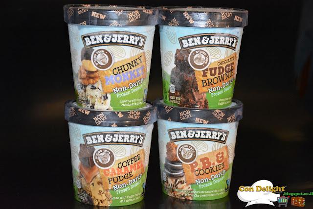 גלידות בן&ג'רי טבעוניות חדשות
