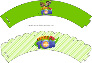 Kit para Fiestas de Tree Fu Tom para Imprimir Gratis.