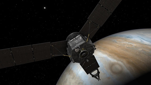 NASA's Juno spacecraft enters Jupiter's magnetic field