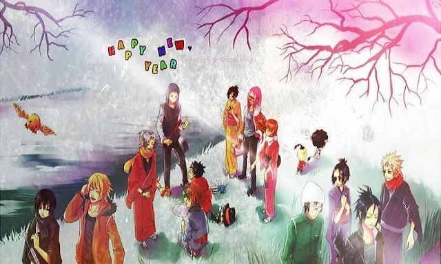 Ano Novo e 100 Respostas sobre Animes