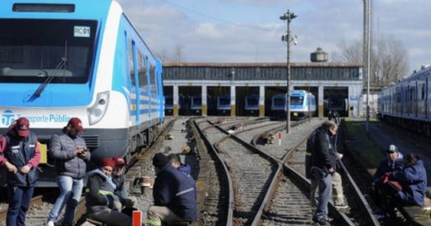 Se levantó el paro del Tren Sarmiento