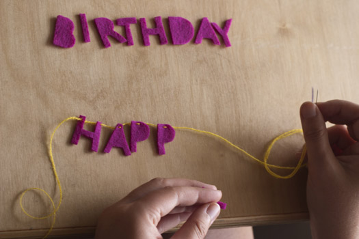 CAKE Creative Co DiY Tutorial Happy Birthday Cake Banner