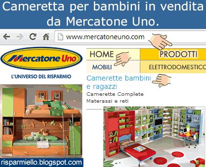 Cameretta Soppalco Mercatone Uno.Risparmiello Mercatone Uno Camerette Per Bambini Soppalco E A